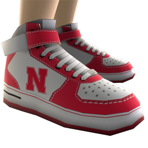 Nebraska High Top Shoes