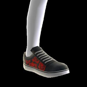 Zapatillas de skate Augurio carmesí