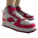 Arkansas High Top Shoes