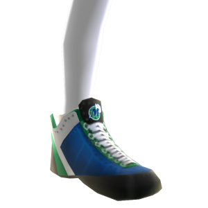 1992-2001 Mavericks Away Shoes