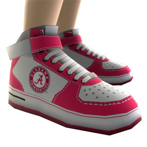 Alabama High Top Shoes