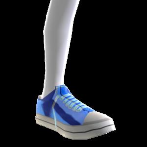 Epic Blue Shoes Blue Chrome Body