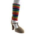 Rainbow Legwarmers