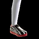 Zebra Print Sneakers