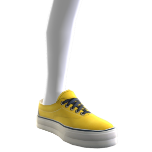 Classic Sneakers - Yellow