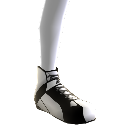 White Racing Shoes
