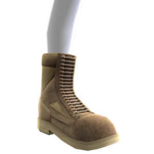 Military Combat Boots - Desert