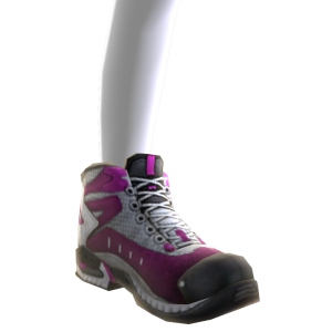 Battle Boots - Pink White