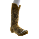 Bottes de cow-boy marron