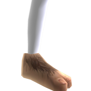 Hobbit-Füße