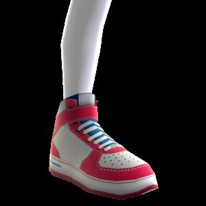 Zapatillas botitas de LA Clippers