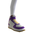 High-Top-Schuhe von LA Lakers