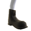 Unlaced Combat Boots