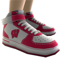 Wisconsin High Top Shoes