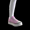 Chaussures de sport roses
