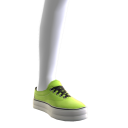 Classic Sneakers - Neon Green 