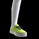 Classic Sneakers - Neon Green