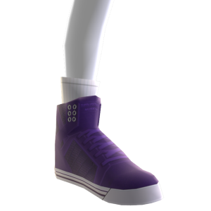 Purple Suede Skytop