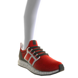Rise Sneakers - Red