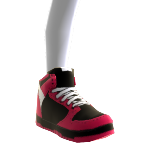 Sneakers - Black and Red