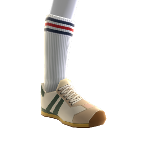 Vintage Sneakers & Tube Socks