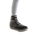 HARP PLAID HIGH TOPS