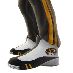 Missouri Track Pants and Sneakers