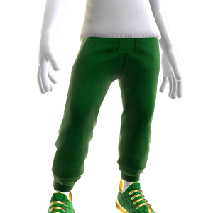Bling St. Patty's Sweats and Sneakers