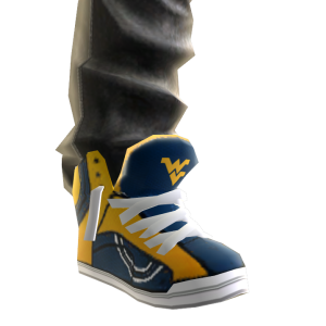 West Virginia Jeans and Sneakers