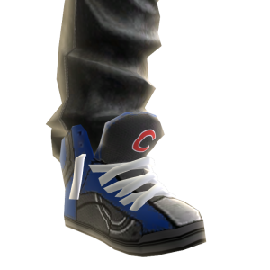 Chicago Cubs Jeans and Sneakers