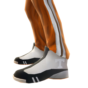 Tennessee Track Pants and Sneakers