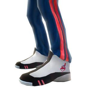 Cleveland Track Pants and Sneakers