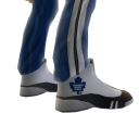 Maple Leafs Track Pants and Sneakers