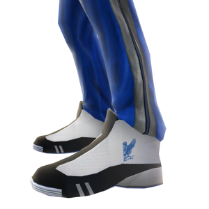 Air Force Track Pants and Sneakers