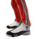 Texas Tech Track Pants and Sneakers