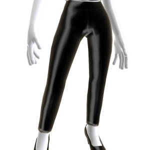 Black Shiny Leggings