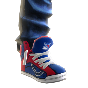 Rangers Jeans and Sneakers