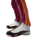 Virginia Tech Track Pants and Sneakers