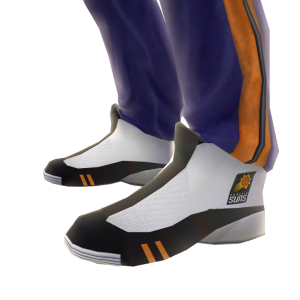 Suns Track Pants and Sneakers