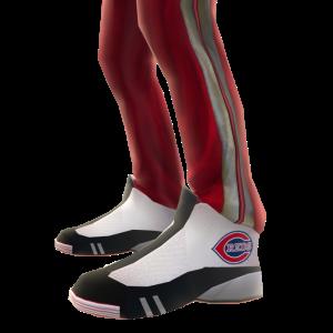 Cincinnati Track Pants and Sneakers