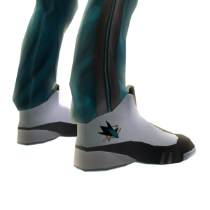 Sharks Track Pants and Sneakers