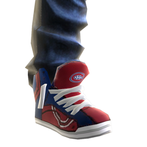Canadiens Jeans and Sneakers