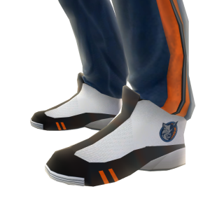 Bobcats Track Pants and Sneakers