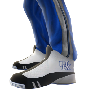 Kentucky Track Pants and Sneakers
