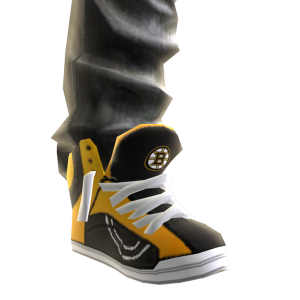 Bruins Jeans and Sneakers