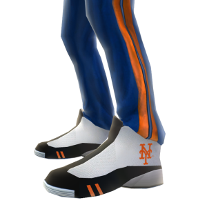 NY Mets Track Pants and Sneakers
