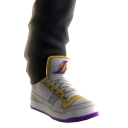 Lakers Sneakers and Jeans