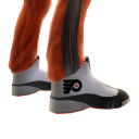 Flyers Track Pants and Sneakers