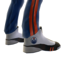 Oilers Track Pants and Sneakers
