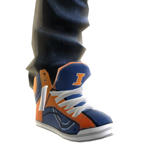 Illinois Jeans and Sneakers
